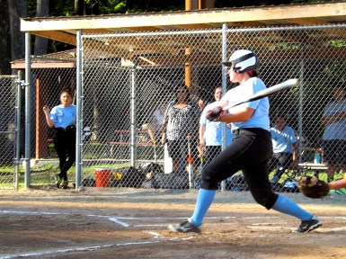 Allie Krohn's last at bat