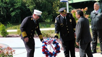 Amsterdam Fire Chief Michael Whitty, Amsterdam Police Chief Greg Culick
