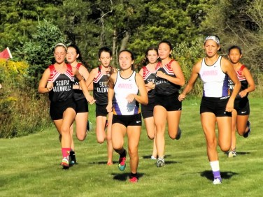 Olivia Lazarou (center) leads the way