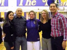 Brady Santiago and family
