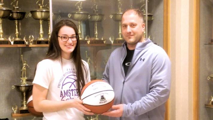 Nina Fedullo, Coach Eric Duemler. Photo provided.
