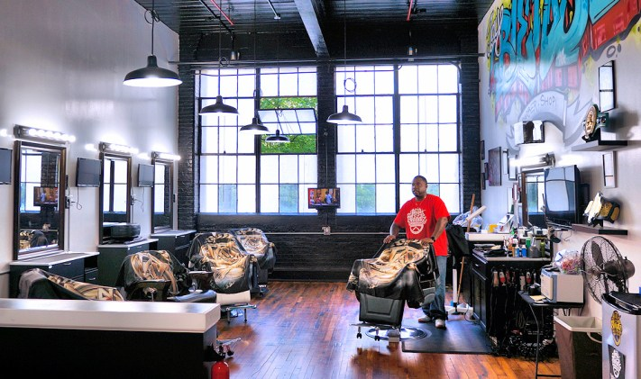 Jay Saez of Jay Blendz Barbershop