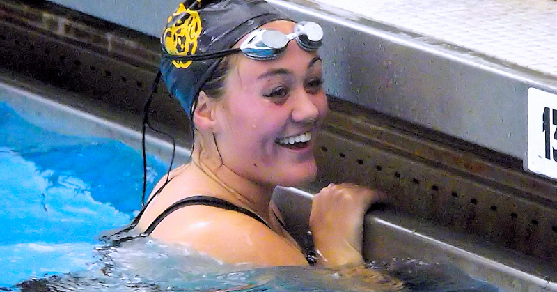 AHS swim team all smiles after first win