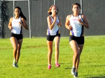 Emma Kelly, Natalie Fernandez, and Josie Smith
