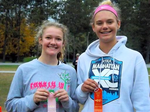 Top AHS freshmen Szczepanik and Marshall