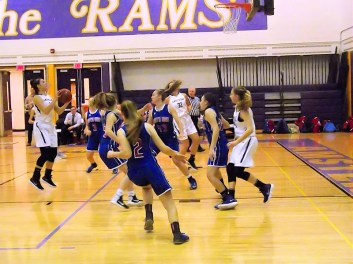 Giuliana Pritchard puts up a shot