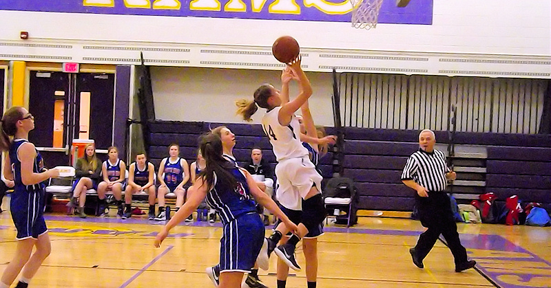 Lady Rams basketball battles through fouls to win against South Glens Falls