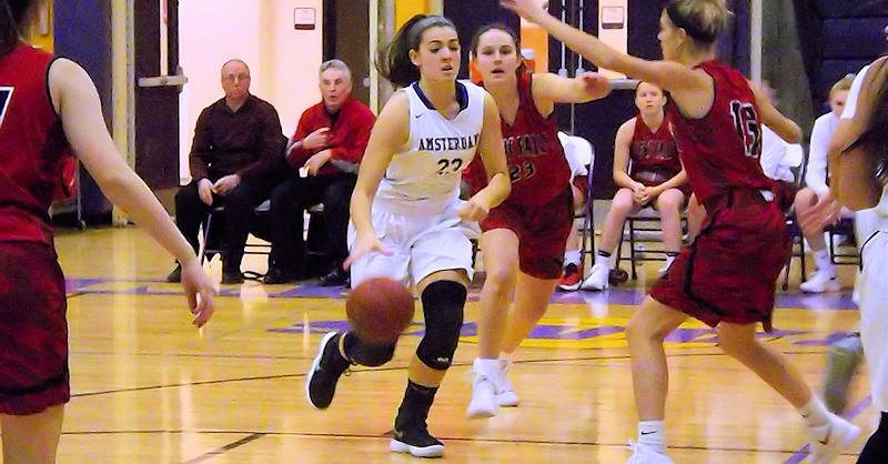 AHS girls basketball top previously unbeaten Glens Falls