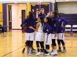 AHS team huddle