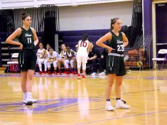 Cam Tooley (#23), and Cat Almeida (#11)