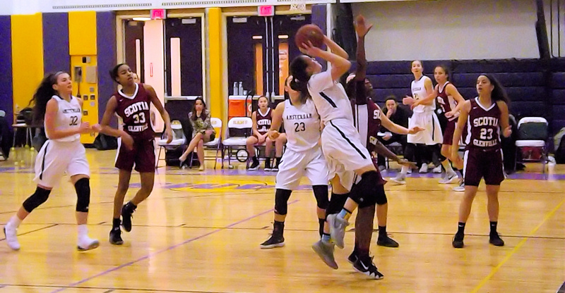 Lady Rams basketball wins battle for first in Foothills