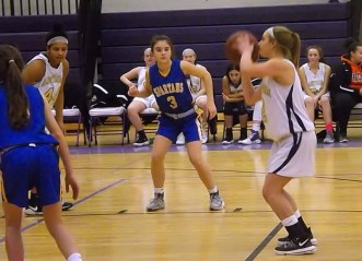 Kayli Hoefs at the foul line