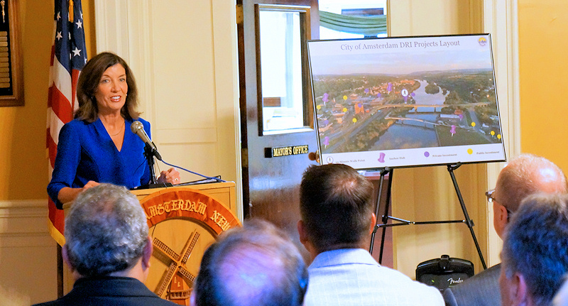 $10 million Downtown Revitalization Initiative grant awarded to City of Amsterdam