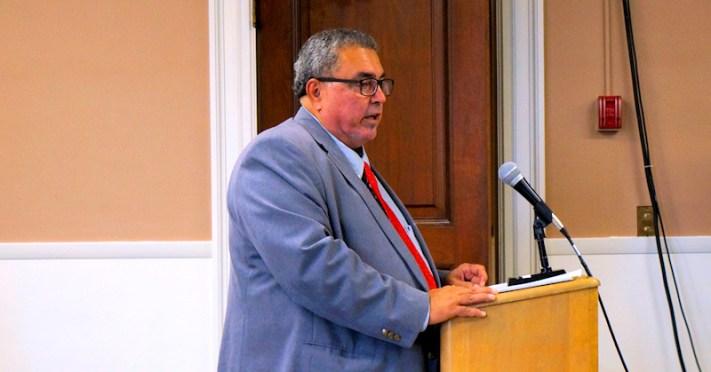 John Duchessi, director of the Amsterdam Industrial Development Agency