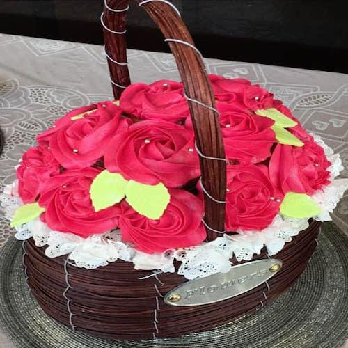 Edible Bouquet Cake 2