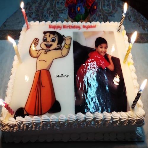 Chotta Bheem Cake Dubai