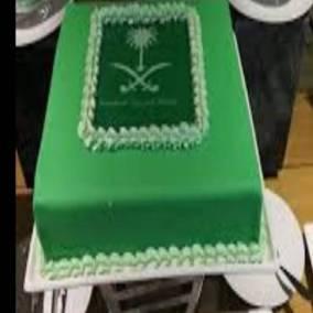 Saudi National Day Cakes UAE Dubai Sharjah Ajman Fujairah