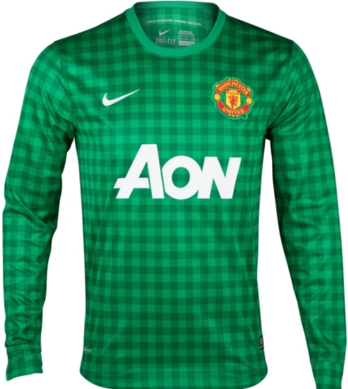 Manchester United 2012/2013 Goalkeeper Jersey