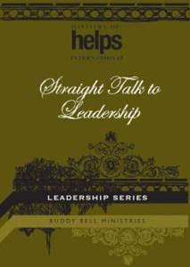 Straight Talk to Leadership