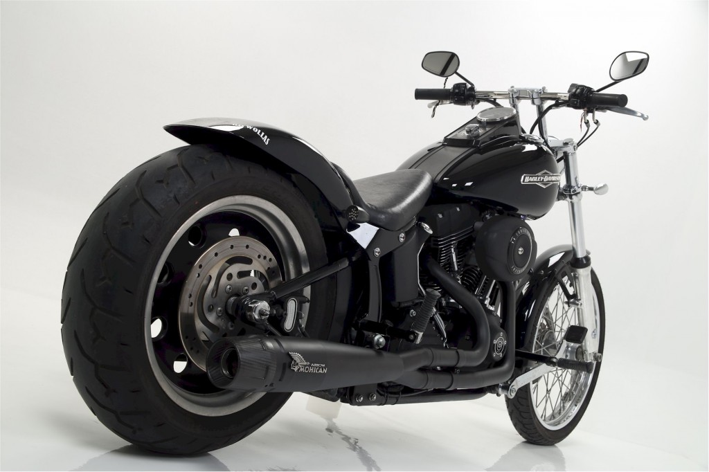 mohican exhaust softail