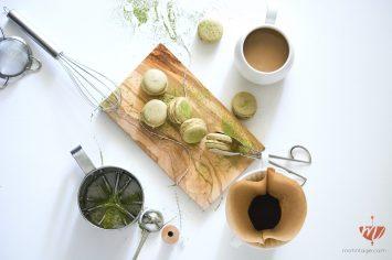 Rezept-Macarons-Matcha-Brombeeren-Weiße-Schokolade-Limette-Melitta-Food-Blog-Day-Mohntage