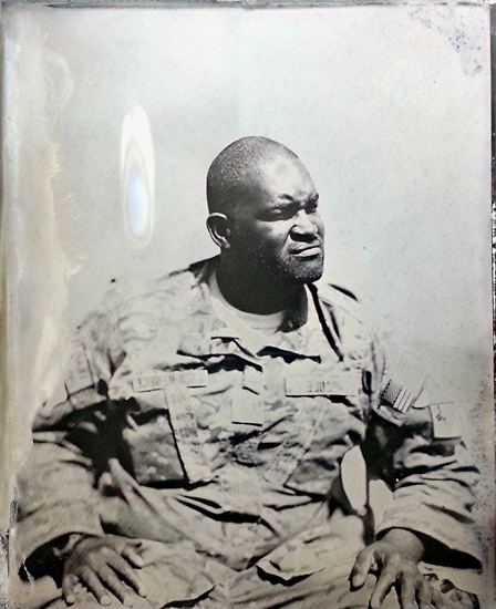 Ed Drew: Combat Tintype Series - Courtesy of the Robert Koch Gallery