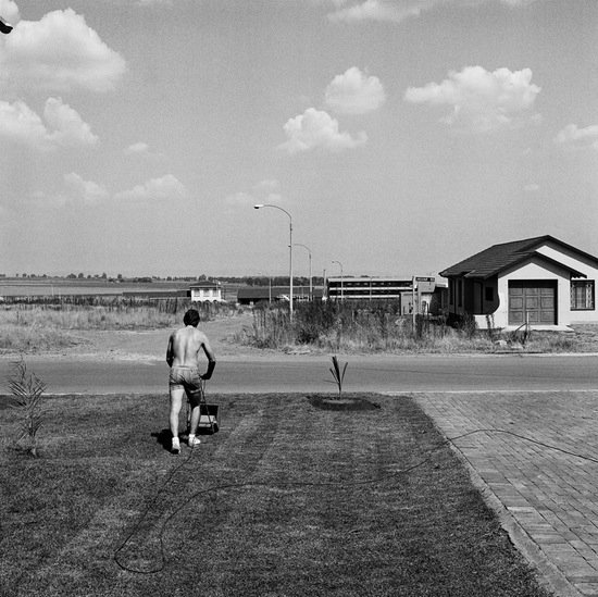 David Goldblatt, Saturday afternoon in Sunward Park, 1979. Courtesy of SFMOMA Collection.