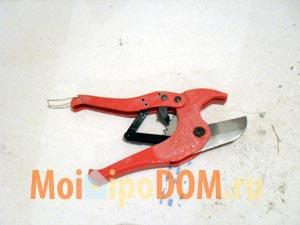 ножницы для металлопластиковых труб