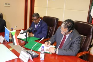Somalia and Sudan sign a cooperation agreement on oil and mining sector