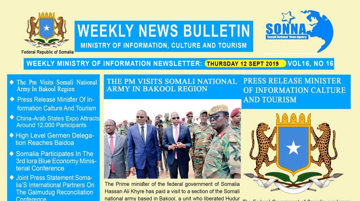Weekly News Bulletin Vol 16