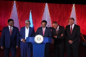 President Farmaajo signs Federal Electoral bill into law+picts