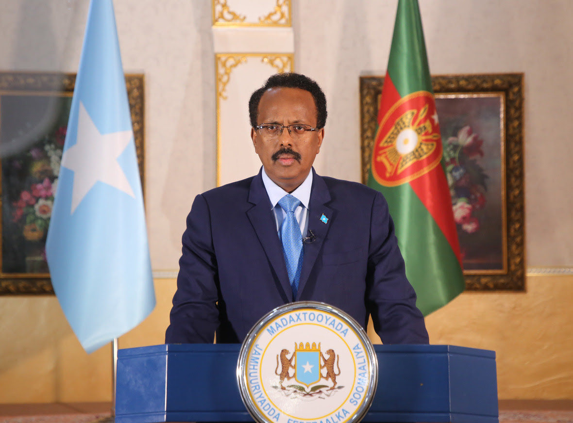 The Somali President congratulates the National Army on its 60th anniversary
