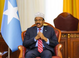 H.E President Farmajo chairs the opening session of the National Consultative Summit