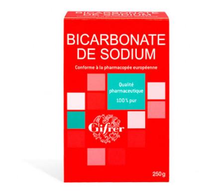 bicarbonate de soude gifrer