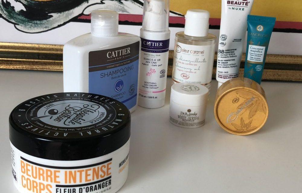 Cosmétiques favoris du moment & unboxing Newpharma