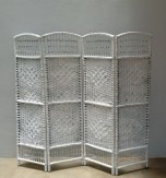 White washed bamboo screen - MD095 at R300