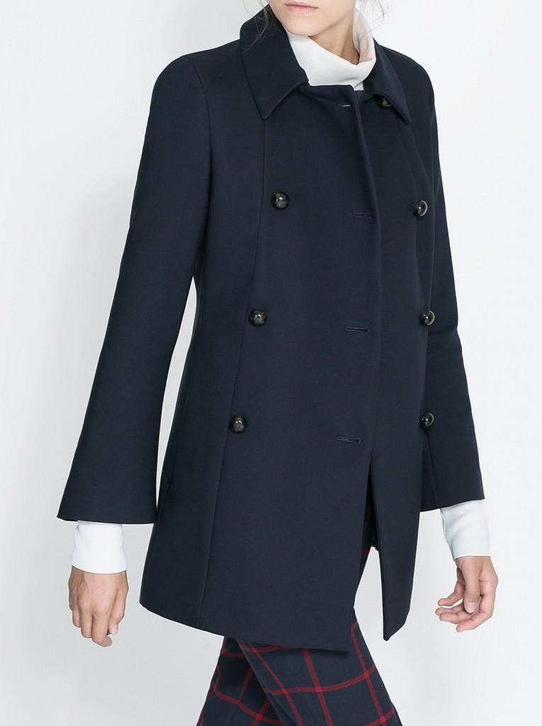 La Veste Zara Et Le Manteau Hiver 2014 Blog