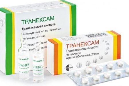 Инструкция по правильному применению таблеток Транексам при маточном кровотечении и сколько дней можно пить