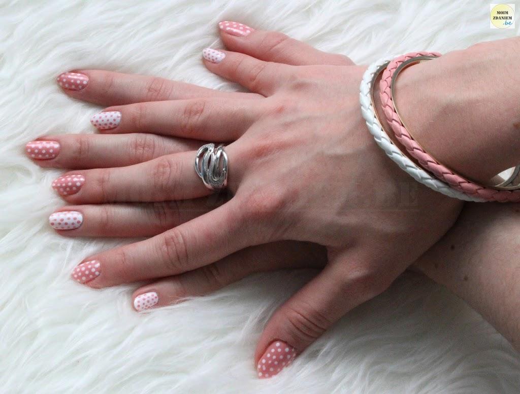 Wiosenny Manicure W Kropki Moimzdaniem Be