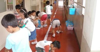 Một ngày ở trường của học sinh tiểu học Nhật Bản
