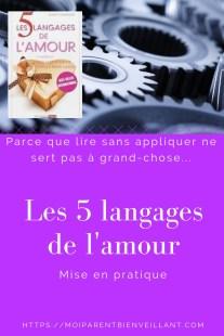 Les 5 Langages De L'amour Test : langages, l'amour, Langages, L'amour, Pratique