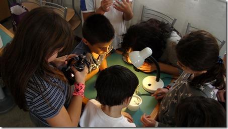 enfants microscope