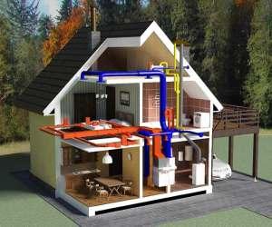 Вентиляция в жилом частном доме