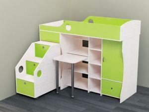 Детская кровать-чердак – универсальная мебель для любой планировки