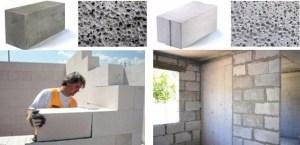 Газосиликатные и газобетонные блоки — параметры и применение