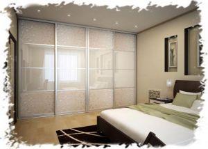 3 практичных варианта встроенных шкафов-купе для спальни