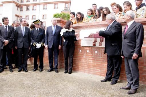 Moissac 28 avril 2013 – Inauguration de l'esplanade des Justes parmi les Nations