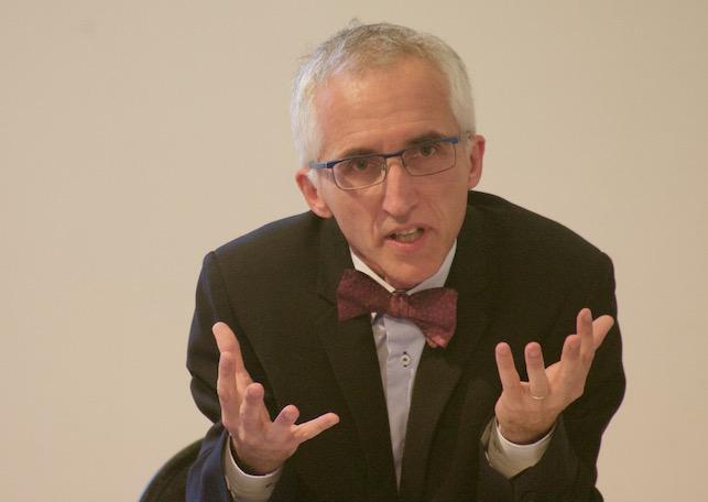 François Boulet en colloque à Grenoble le 1er octobre