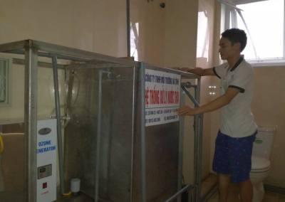 Thiết kế hệ thống xử lý nước thải cho bệnh viện nhỏ