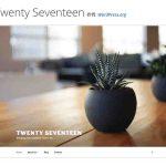 「twenty seventeen」フロントページセクション幅の変更/wordpressテーマ